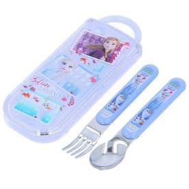 食洗機対応 スライド スプーンフォークコンビセット CC2 (アナと雪の女王2)