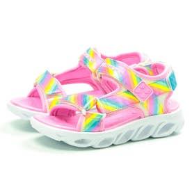 キッズ サンダル HYPNO SPLASH ヒプノスプラッシュ 正規品 RAINBOW LIGHTS 靴 レインボー ダブルストラップ ストラップ