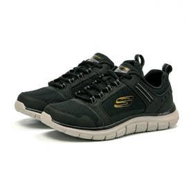 Track Knockhill ノックヒル メンズ スニーカー シューズ 靴 ランニング ウォーキング 232001 正規品 (ブラック/ゴールド(