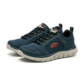 Track Knockhill ノックヒル メンズ スニーカー シューズ 靴 ランニング ウォーキング 232001 正規品 (ネイビー/オレンジ(