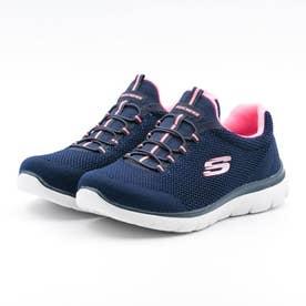 レディース スニーカー  SUMMITS COOL CLASSIC 149206 シューズ 靴 (ネイビー/ピンク)