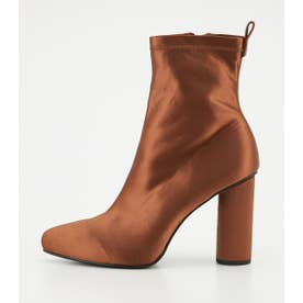 SHAPED COLOR BOOTS BRN