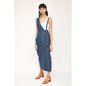 ONE SHOULDER JUMPER スカート (ブルー)