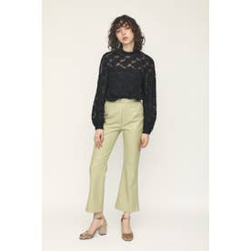 SKIN LEATHER TROUSERS (ライトミント)