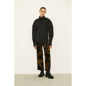 VELOURS TIE-DYE TROUSERS (M/イエロー)