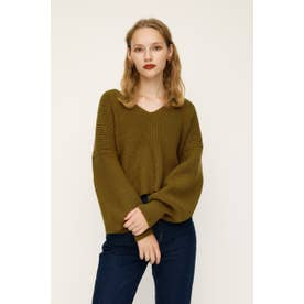 V/N PULLOVER MG TOPS D/YEL3