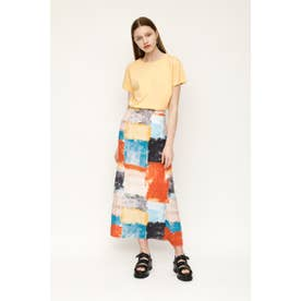 BLEEDING TILE スカート M/BLU7