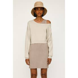 OFF SHOLDER LAYERED 2P BEG