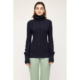 LONG SLEEVE TURTLE トップス NVY