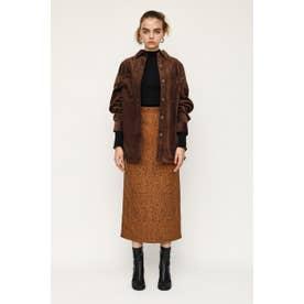 JENA LEOPARD ミディアムスカート M/BRN7