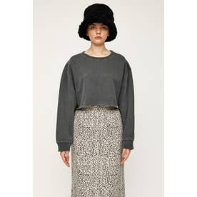 DOLMAN SLEEVE CROPPED トップス L/BLK1