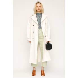 WRINKLE TRENCH コート O/WHT1