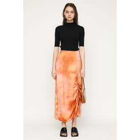 DAZED DYE SATIN SHIRRING スカート M/ORG7