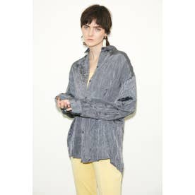 WRINKLE シャツ GRY