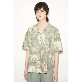 ANIMAL OPEN COLLAR シャツ M/MINT7
