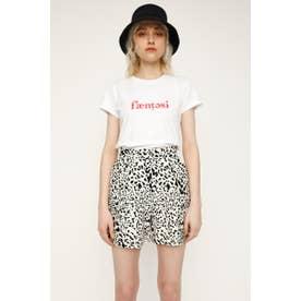 LOGO COMPACT Tシャツ WHT