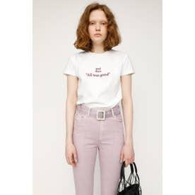 LOGO STETCH COMPACT Tシャツ WHT