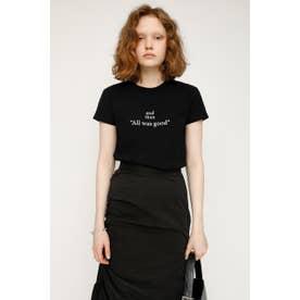 LOGO STETCH COMPACT Tシャツ BLK