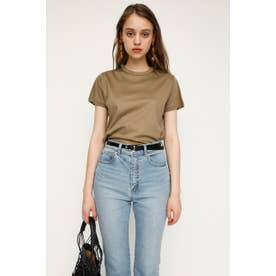 MERCERIZE BASIC Tシャツ BEG