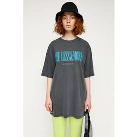 WASHED LOGO BIG Tシャツ L/BLK1