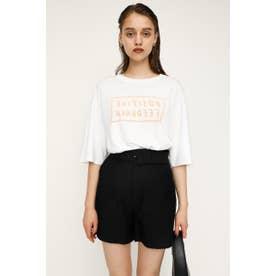 REVERSIBLE LOGO Tシャツ WHT
