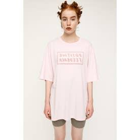 REVERSIBLE LOGO Tシャツ L/PNK1