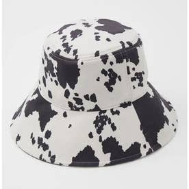 COW PATTERN BUCKET ハット M/BLK7