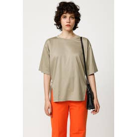 OVER SIZE SLIT Tシャツ BEG