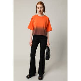 HALF DYED Tシャツ GRY