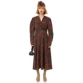 WANDERING ZEBRA ドレス M/BRN7