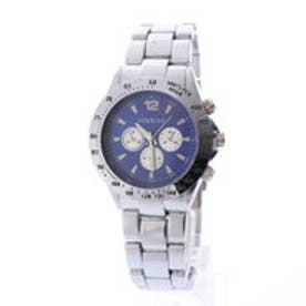 SORRISO ソリッソ 回転式ベゼルのベーシックデザイン腕時計 フェイクダイヤル SRHI2-NVY(NVY)