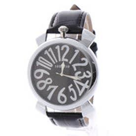 SORRISO ソリッソ 上部リューズのビッグケースにイタリアンデザイン腕時計 SRF9L-SVBK(SVBK)