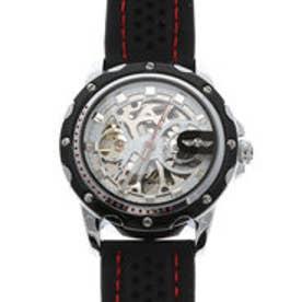 自動巻き腕時計 ミリタリーテイスト スケルトン シンプル 機械式腕時計 ATW034-WHT (WHT)