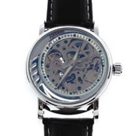 自動巻き腕時計 無反射コーティングブルーガラス シンプル スケルトン 機械式腕時計 ATW033-SLV (SLV)