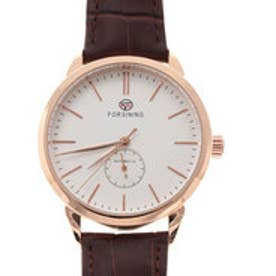 自動巻き腕時計 上品 シンプル きれいめ クラシック ゴールド 機械式腕時計 ATW032-PGWH (PGWH)