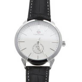 自動巻き腕時計 上品 シンプル きれいめ クラシック シルバー 機械式腕時計 ATW032-SVWH (SVWH)
