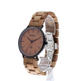 セイコームーブメント 天然素材の木製腕時計 ウッドウォッチ 軽量 WDW029-03 (3)