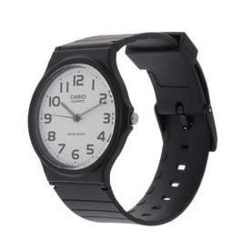 CASIO CASIO腕時計 カシオ チープカシオ アナログ表示 丸形 チプカシ メンズ腕時計 MQ-24-7B2 (ホワイト) (F)