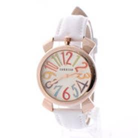 SORRISO ソリッソ 上部リューズのミッドサイズケースにイタリアンデザイン腕時計 SRF9-PGWH(PGWH)