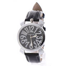 SORRISO ソリッソ 上部リューズのミッドサイズケースにイタリアンデザイン腕時計 SRF9-SVBK(SVBK)