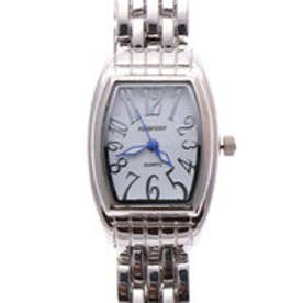 日本製ムーブメント 小さめ可愛いメタルベルトのシンプル トノー型腕時計 SVWH (SVWH)