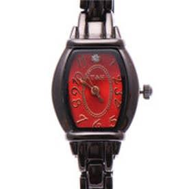 日本製ムーブメント 1粒ストーンが輝く小さめ可愛い トノー型腕時計 ブレスレットウォッチ BKRD (BKRD)