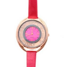 ビビットカラーが印象的なラグジュアリーウォッチ ラインストーン腕時計 SPST008-DPK (DPK)