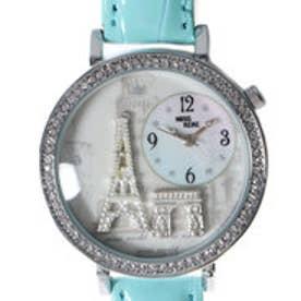 レディース腕時計 Miss Keke ケケ 海外 エッフェル塔 ラインストーン ファッションウォッチ KK1309-MNT (MNT)