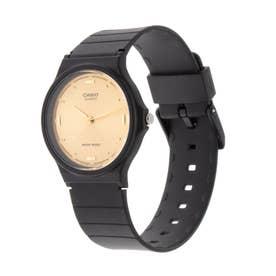 CASIO腕時計 カシオ アナログ表示 丸形 MQ-76-9A チプカシ 人気モデル チープカシオ レディース腕時計 (-)