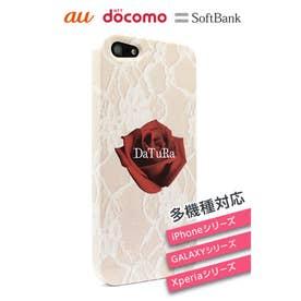 DaTuRa/スマホケース(ローズ)【iPhone4S/SC-06D/SC-03E/SH-09】 マルチ