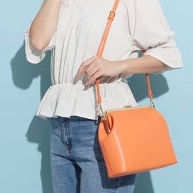 Leather Purse Bag (オレンジ)