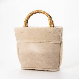 Bamboo Bucket Bag (ベージュ)