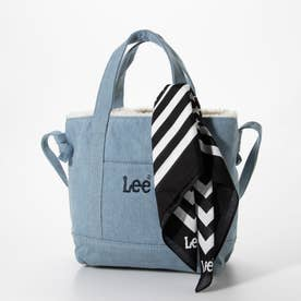 【Lee×SMIRNASLI】 Reversible Mini Tote (ブルー)