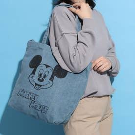 【Disney】ミッキーキャンバストート (ブルー)